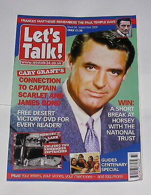 Lets Talk Magazine - Cary Grant - September  2009 - Issue 84 - 132 Pages
