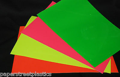 Roll of Neon Sign Vinyl, Choose Your Color and Size. Fluorescents!!!