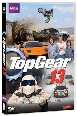 TOP GEAR UK Season 13 2009: Jeremy Clarkson TV Season Series - Rg2/4 DVD not US