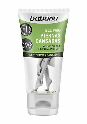 Babaria Aloe Vera Cooling Gel For Tired Legs and Feet 150ml