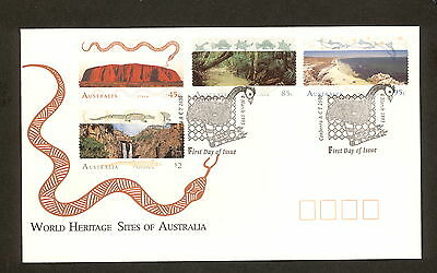 1993 FDC1395 WORLD HERITAGE SITES First Day Cover