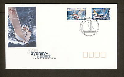 1994 FDC1494 SYDNEY HOBART Peel & Stick First Day Cover SYDNEY NSW 2000 Postmark