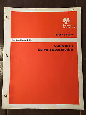 Collins 51Z-6 Marker Install & Service Manual
