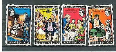 NATALE - CHRISTMAS DOMINICA 1970 Dickens set