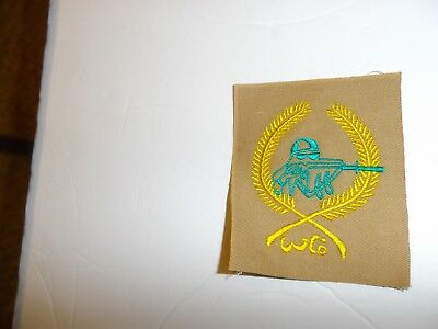 b0628 Iraq  Iraqi Sniper patch patch IR18A