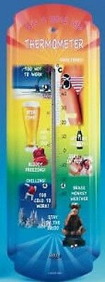 Cool Life Garden, Large Outdoor Thermometer , Wall Mount