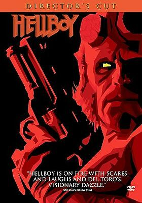 Hellboy (DVD, 2004, 3-Disc Set, Director's Cut)  Hellboy is on fire with scares