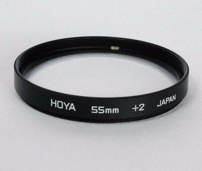 Used Hoya 55mm +2 Close Up Lens filter for Macro
