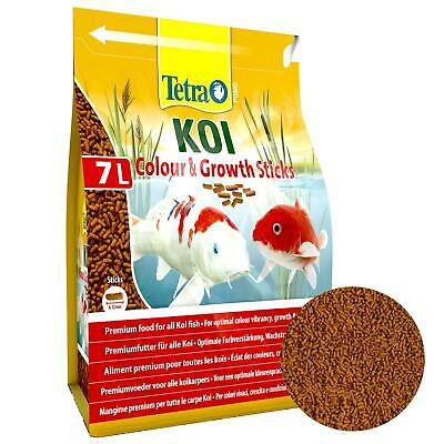 2200g 7 litre TETRA POND GROWTH & COLOUR STICKS FLOATING KOI FISH FOOD DIET
