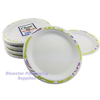 10 x 24cm Super Strong High Quality Chinet Disposable Party Plates (1 x 10)