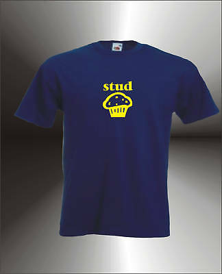 Stud Muffin - Mens Funny T-Shirt All Sizes