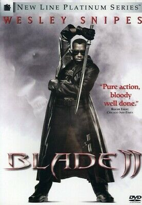 Blade II (DVD, 2002) Wesley Snipes   2-Disc Set  Widescreen Edition
