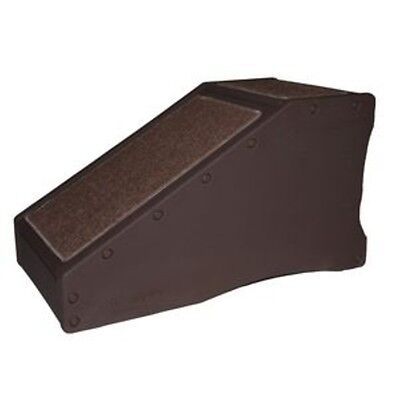 New! PET GEAR StRamp Dog Cat Step Stairs Bed Ramp Indoor CHOCOLATE