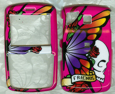 FRIENDS BUTTERFLY FACEPLATE PHONE COVER SNAP ON CASE PANTECH REVEAL C790 AT&T