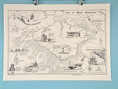 Coastal Shipwreck Maps Cornwall Devon Wales Dorset IOW Channel Sussex Lizard