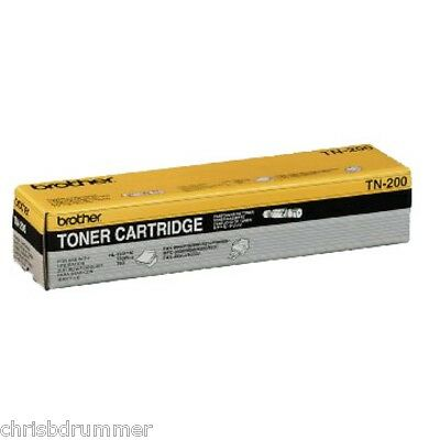BROTHER TN200 BLACK TONER CARTRIDGE Page Life 'NEW'