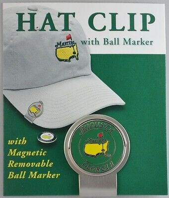 2012 Masters HAT CLIP with BALL MARKER from Augusta National