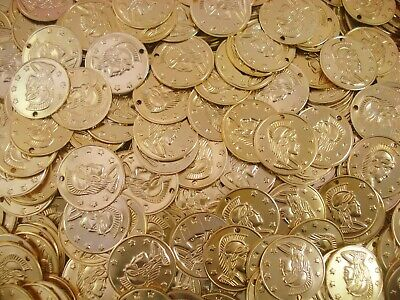 Belly Dancing Coins 20mm Gold 200pc Costume Dance Stage Jewellery FREE POSTAGE