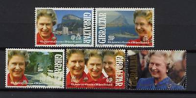Gibraltar 1992 Accession MNH Set