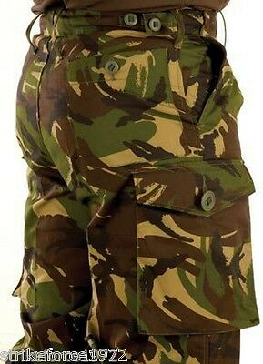 "NEW - Army Issue Woodland Camo DPM Combat Trousers 75/80/96 - 31"" waist, 29"" Leg"