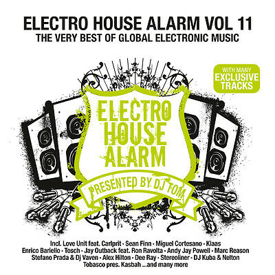 CD Electro House Alarm 11 von Various Artists 2CDs  many exclusive Tracks