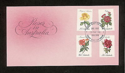 1982 FDC00846 ROSES First Day Cover DEE WHY NSW 2099 Postmark