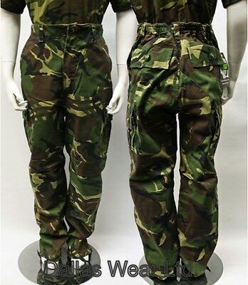 Kids Boys Girls Children's Woodland Camo Combat Trousers Age 3/4 5/6 7/8 9/10 11