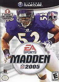 Madden NFL 2005  (Nintendo GameCube, 2004) Rated E for Everyone