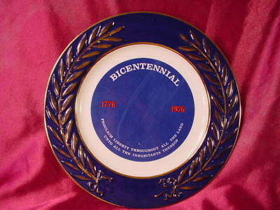 Vintage Taylor Smith Historical Bicentennial Plate 1776 - 1976