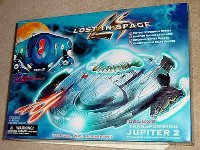 Lost In Space Movie Deluxe Transforming Jupiter 2 Electronic Lights Sounds Seald