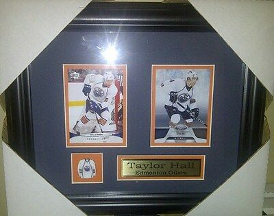 Taylor Hall Edmonton Oilers NHL Hockey Museum framed cards Free Shipping