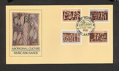 1982 FDC0869 ABORIGINAL CULTURE FDC SYDNEY PHILATELIC SALES TYPE B 2000 Postmark