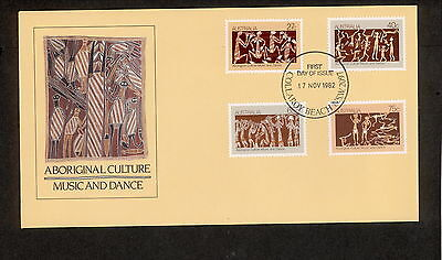 1982 FDC0869 ABORIGINAL CULTURE First Day Cover COLLAROY BEACH NSW 2097 Postmark