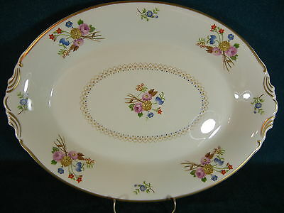"Syracuse Coventry Oval 13 7/8"" Serving Platter"