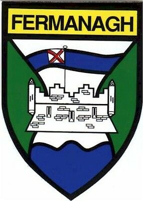 Country FERMANAGH GAA Irish Embroidered Patch / Badge