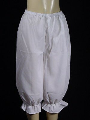 Bloomers Drawers Vintage Victorian Civil War style all Cotton sizes XS to XXL