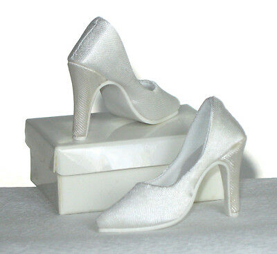 """Doll Shoes 6 PAIR SATIN /& LACE fit CANDI 16/"""" Fashion Dolls Tyler Gene Alex New"""