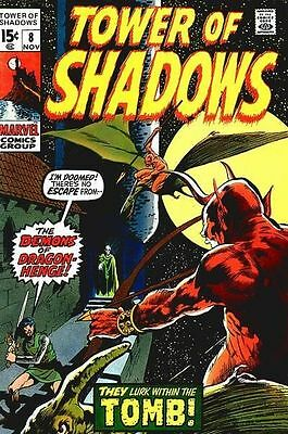 TOWER OF SHADOWS #8 Fine, Wally Wood art, DC Comics 1970