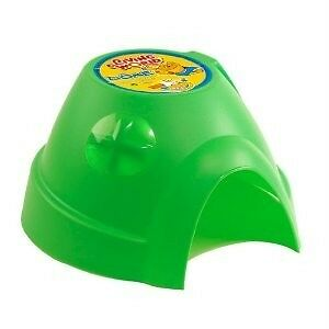 "Living World Colored Plastic Dome Guinea/Rat/Ferret Hut Medium ""BR"""