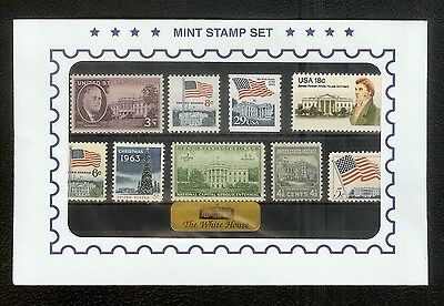 U.S. Stamp Set. 1938-1992 The White House Collection. Mint Never Hinged. RARE