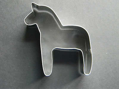 Scandinavian Sweden Swedish Dala Horse Cookie Cutter #186HOR