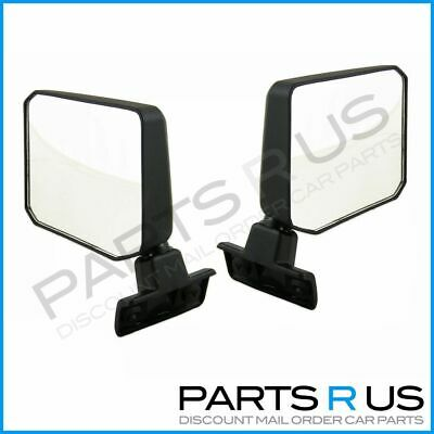 Toyota 70 75 78 Series Landcruiser Troopy Door Mirrors 85-07 Left Right Pair