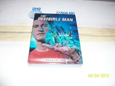 THE INVISIBLE MAN SEASON 1 BRAND NEW & FACTORY SEALED!!!!!!!!!!!!!!!
