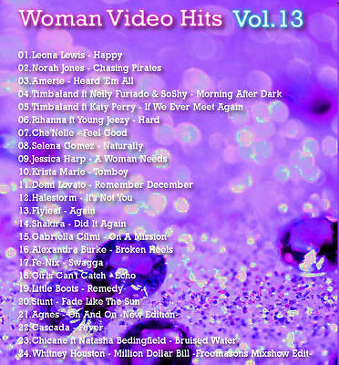 Promo Video Compilation DVD, Woman Video Hits Volume 13