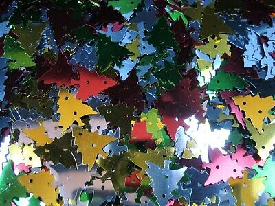 Sequins Shapes Christmas Tree 25g Scrapbooking Decorations Craft FREE POSTAGE