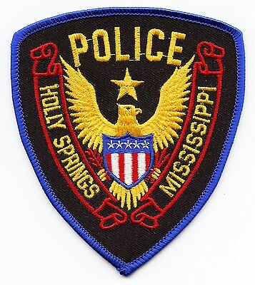 Holly Springs Mississippi Ms Police Patch