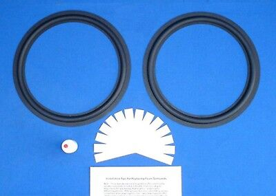 Pioneer HPM-150 / HPM-1100 / HPM-1500 Speaker Foam Surround Woofer Repair Kit