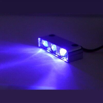 BLUE 3 LED NEON MOTORCYCLE/CAR/BOAT/HOME POD LIGHTS ULTRA BRIGHT Street N Glow