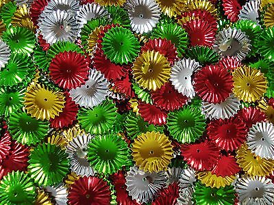 Sequins Shapes Christmas Frilly Disc 25g Scrapbooking Decorations FREE POSTAGE