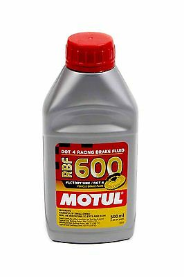 MOTUL RBF 600 RACING BRAKE FLUID 16.9oz BTL EXCEEDS DOT4 SYNTHETIC HIGH TEMP
